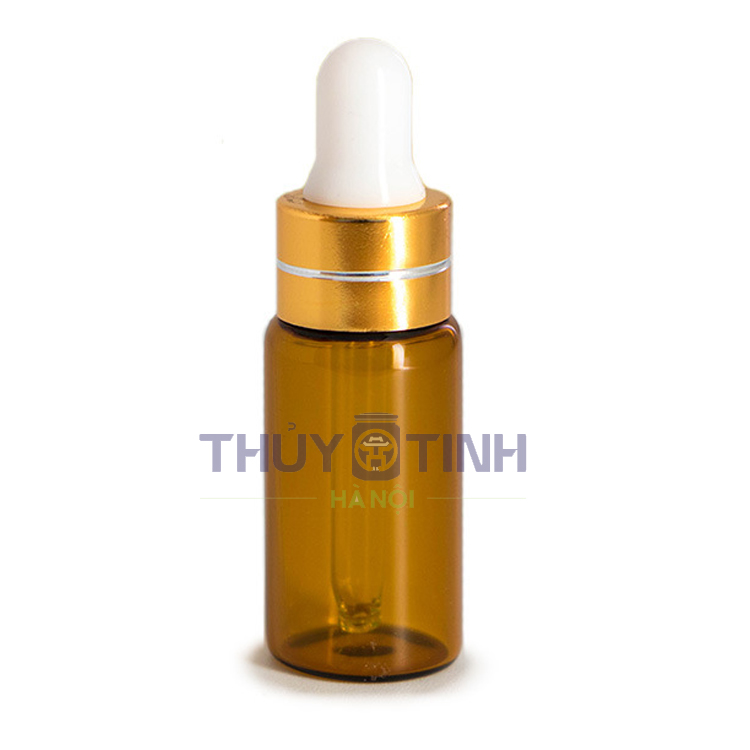 Lọ nâu nắp serum mini 1ml - 2ml - 3ml - 5ml