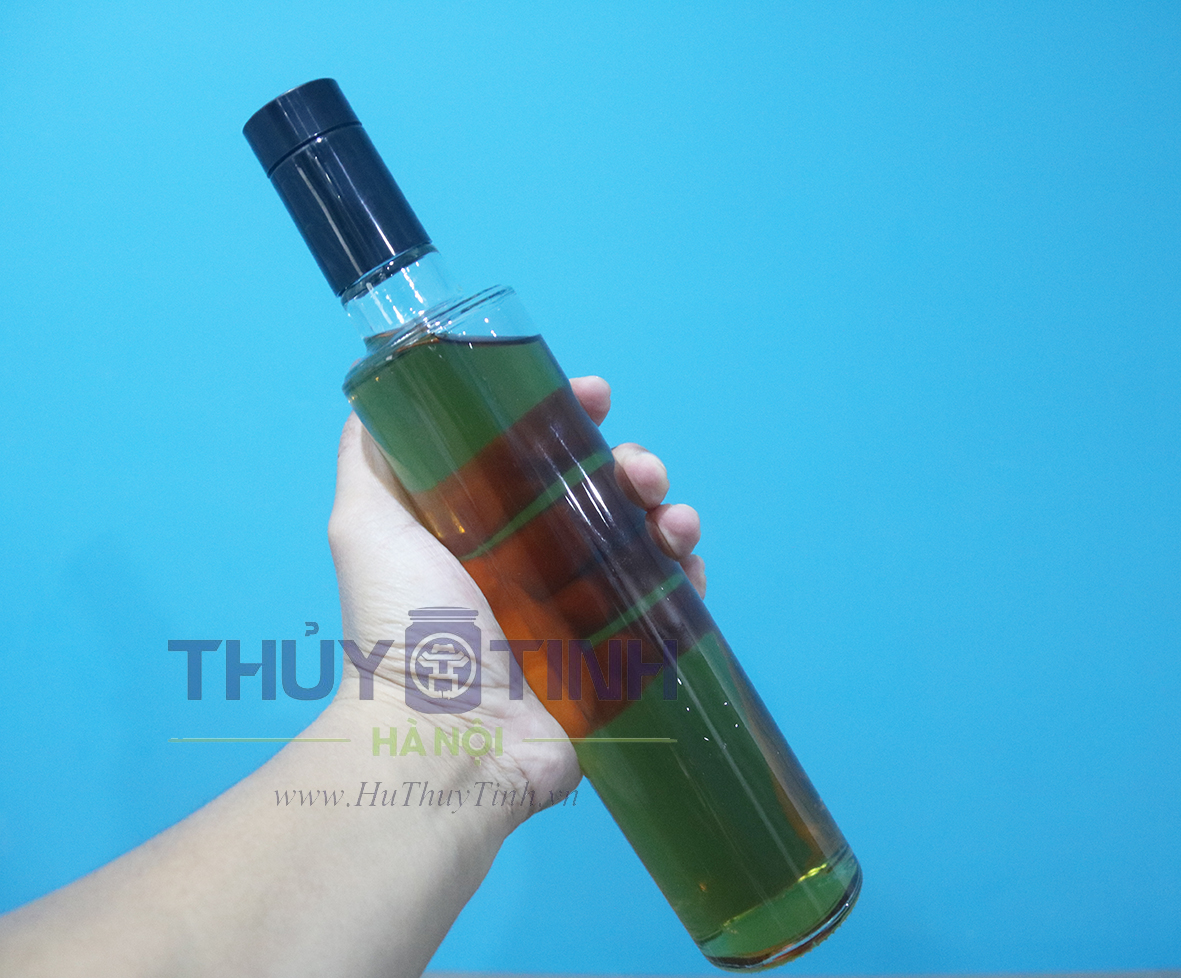 Vỏ chai vodka men 500ml nắp bi